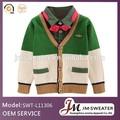 cuello en v suéter de lana para los niños de la marca nombre suéter de diseño de ropa para niños de fábrica en china
