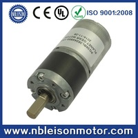36mm long life high torque 12 volt 24 volt dc brushless planetary gear motor