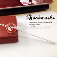 Custom metal bookmark