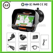 Waterproof GPS handheld/The GPS handheld guide-4.3'' 4GB nand flash memory motorcycle GPS navigator