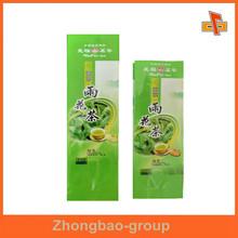 food packing material side gusset food grade custom made nylon tea bag ,artichoke tea bag