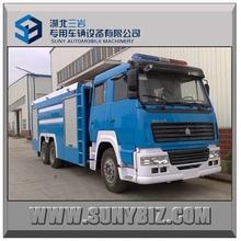 SINOTRUK STYLE 12000L 6x4 fire truck fire automobile