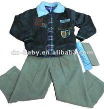 hot sale winter clothes for children 3 pieces set 2012