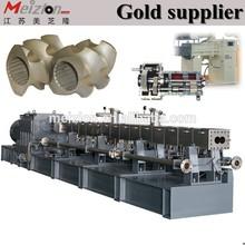 wood plastic composite production line/pelletizing plastic machine factory/ plastic film granulator machine