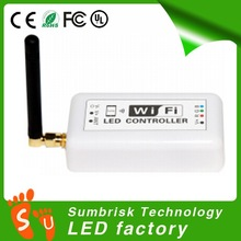 Hotselling rgb led controller wifi Suitable for any 12V-24V LED light,