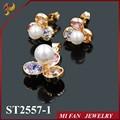 venta caliente 18k cz conjuntos de joyas al por mayor de joyería de moda