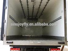 refrigerated van truck aluminum sheet/corrugated steel cargo dry van body