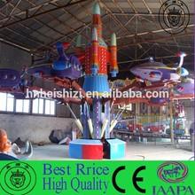 Toy amusement park rides self-control plane