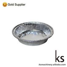 Round Disposable Pollution-free Convenient Aluminum Foil Bowl