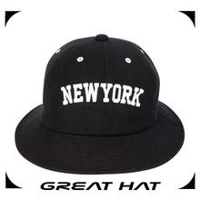 2015 multi-panel custom made bucket hats black cheap fedora hats