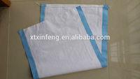 100% virgin resin polypropylene woven bags for rice packaging, pp plastic rice sacks for wholesale