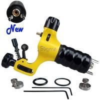 New Stigma Prodigy Rotary Tattoo Machine Gun -Clone-3 Stroke Excenter Yellow