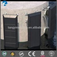 UHMWPE/HDPE marine dock fender corner face board