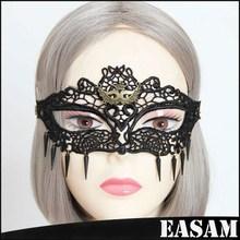 Lace rivet half face mask,sexy fox mask,venice mask