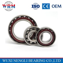 Single row angular contact ball bearing 7301 for Mechanical Electrical Equipment