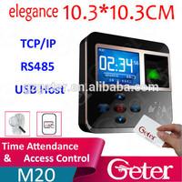 Biometric Fingerprint Access Control Time Attendance with Slim Design M20 JTL