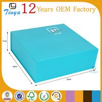 Custom folding curtain packaging box design