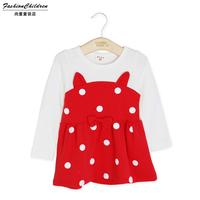 C-101 2015 new children's clothing for girls are still free shipping children cute Spring bottoming shirt children dress