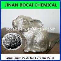 silver metallic aluminum pigment, metallic aluminum paste for ceramic paint