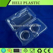 2015 clear plastic cupcake box wholesale