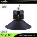 Led haute baie led lampe halogène de remplacement industriel. 60w lampe avec un grand prix