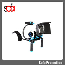 2015 hot new dslr camera shoulder rig bracket ,camera stabilizer