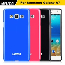 IMUCA newest tpu cell phone back case cover for Samsung galaxy A7 case