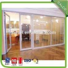 Double glazing insulation type upvc door cum window