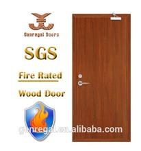 Haute qualité BS476 en bois 1 h / 2 h ignifuge feu de porte coupe