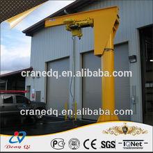 electric bz slewing mobile jib crane motor 1ton,2ton,3ton,4tom,5ton,10ton pedestal crane