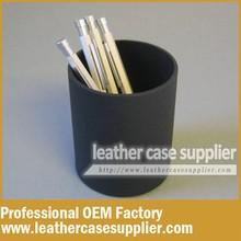 Nice Design Custom PU Leather Pen Holder