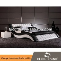 High Quality Modern Leather Bed 8014