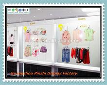 TZG-014 Amazing design fashion retail cloth garments shop decoration