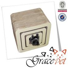 Grace Pet Corrugated cardboard cat scratcher toys with catnip