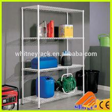 Garage Home Storage 4 Shelves,Heavy Duty Metal Steel Rack, cold room shelving