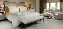 Hot sale latest modern wooden bedroom furniture decorating / china Custom hotel furniture