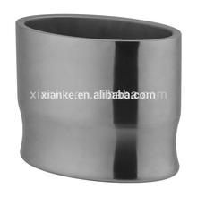 Top grade stainless steel wine cooler bucket large beer holder for pub