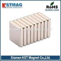 Permanent block motor neodymium magnet