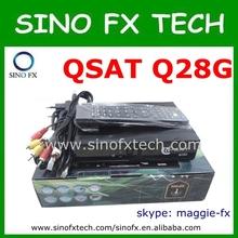 satellite tv receiver dvb-s dvb-t2 q-sat q28g
