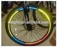 high viz tire reflective stickers for the bike