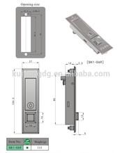 Series Round Edge Cam Lever Industrial Cabinet Push Lock