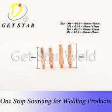 ECU welding Contact tip( pana 200A/350A/500A torch welding tip)