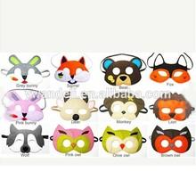 Custom design mask,horse wolf lion owl Animal Mask,Children animal mask