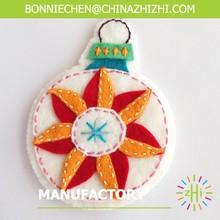 Excellent quality most popular custom handmade felt christmas ornaments