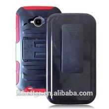 Hybrid Heavy Duty case defender holster combo for Motorola Moto E 2nd CDMA