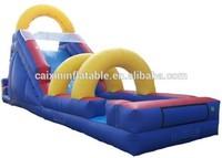 children indoor playground big slide /cheap inflatable water slides for sale