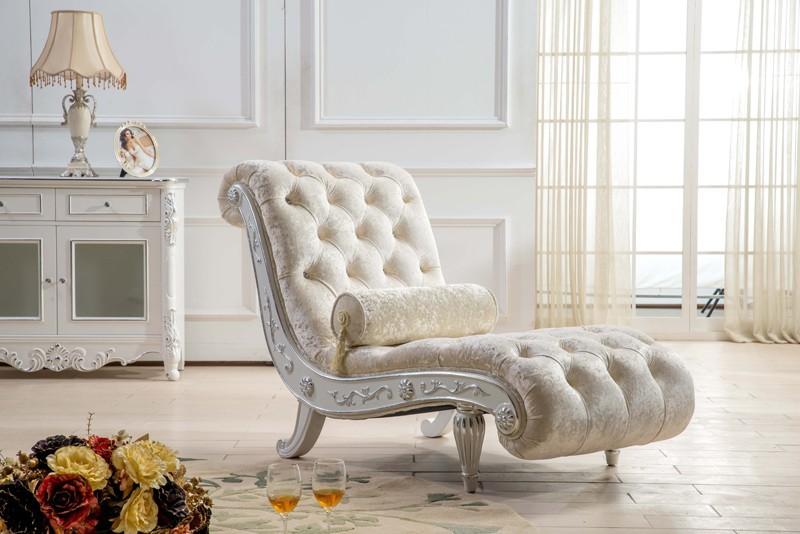 Kb035 verse licht kleur romatic beige chaise lounge couch - Muebles estilo barroco moderno ...