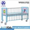 Yfe011t con laterales de aleación de aluminio barandillas de la cabeza de acero y tablero de pie del hospital de los niños de cama