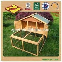 2014 E-co Friendly Large Run Wooden Rabbit House Designs DXR023