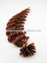 factory price pre bonded glue hair extensions vtip itip nail tip hair